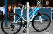 NYC Repurposing Old Parking Meters Into Bike Racks | Fast Company