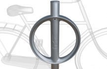 NYC Parking Meters Transformed Into Bike Parking &#8211; DesignTAXI.com