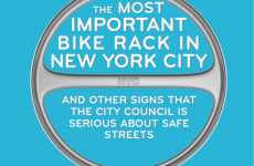 The Most Important Bike Rack in New York City | Transportation Alternatives